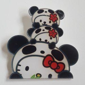 Jewelry - Hello Kitty Panda Acrylic Kawaii Pin